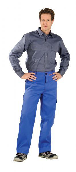 Schweißerschutz Bundhose 500 kornblau Gr. 42