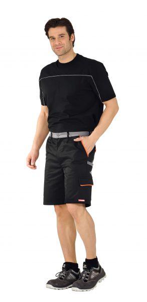 Arbeitsshorts VISLINE schwarz, orange, zink Gr. XS