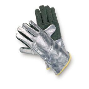 Hitzeschutzhandschuh PREOX-ARAMID, Aluminium, bis 600°C, 3-Finger