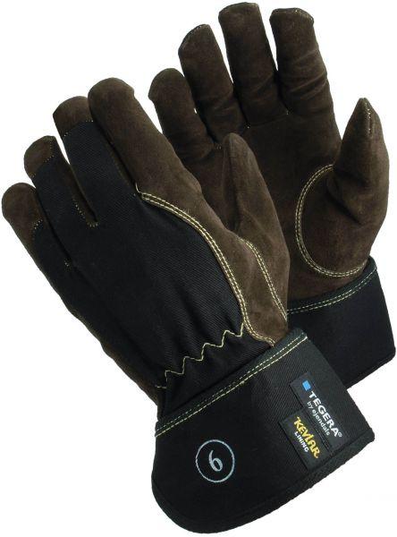 Schnittschutzhandschuhe 169 Tegera Classic, Rindsspaltleder/Baumwolle, Gr. 9