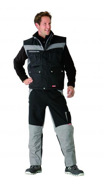 Winterweste Inline schwarz, zink Gr. XS