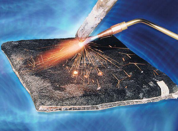 Feuchtmatte 300 x 300 x 30 mm als Schweißunterlage m.Spezialisolation,bis 3000°C