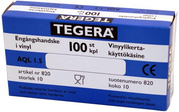 Untersuchungshandschuhe 820 TEGERA Classic, Vinyl, gepudert, Gr. 7