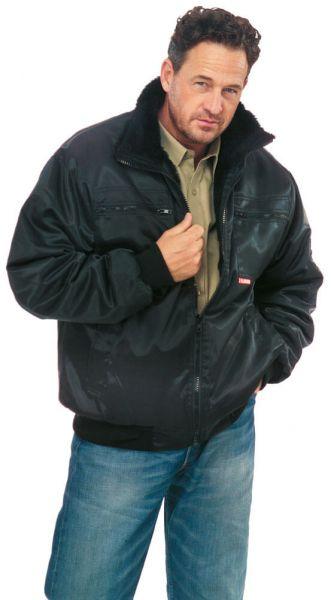 Gletscher Piloten Jacke schwarz Gr. S
