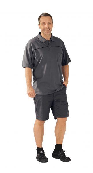 Polo-Shirt schiefer ,  schwarz, Größe XS