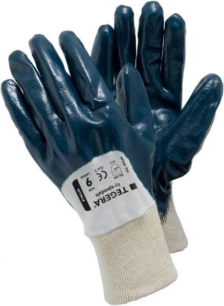 Schutzhandschuhe 723 TEGERA® Basic blau, Nitril ,  Jersey, Gr. 7