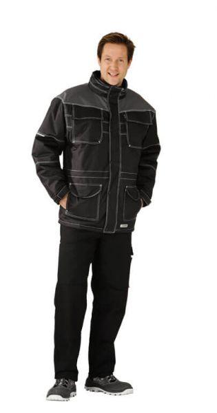 Steal Parka schwarz, grau Gr. S