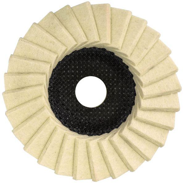 Glanz-Polierfächerscheibe G-VA Finish 115 x 22,23 mm