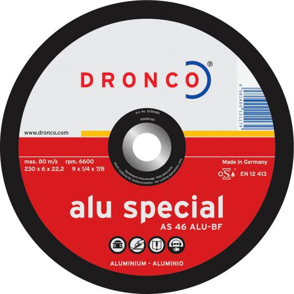 Schruppscheiben Aluminium AS 46 ALU special 115 x 6 x 22,23 mm