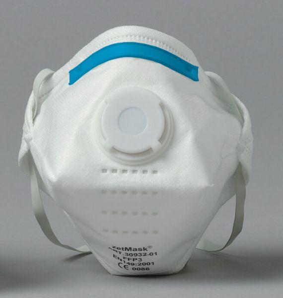Feinstaubfiltermaske FF P3 mit Ausatemventil