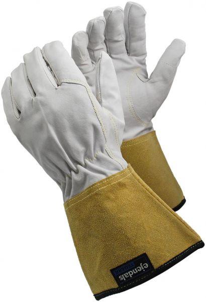 Schweißerhandschuhe 126 TEGERA Classic, Ziegenleder, Stulpe, Gr. 7