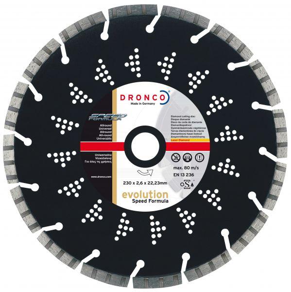 Diamant-Trennscheibe Evolution Speed Formula 115 x 2,2 x 22,23 mm