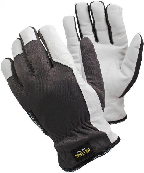 Schnittschutzhandschuhe 215 TEGERA Classic, Ziegennarbenleder, Nylon, Gr. 7