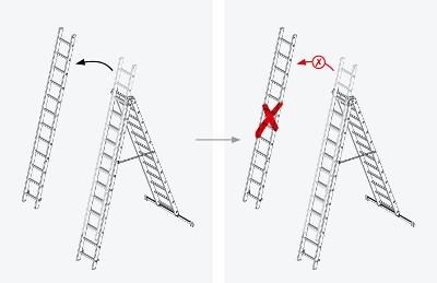 Blockierung-entnehmbare-Leiterteile