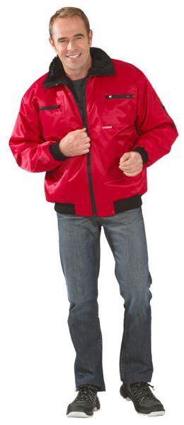 Gletscher Piloten Jacke rot Gr. S