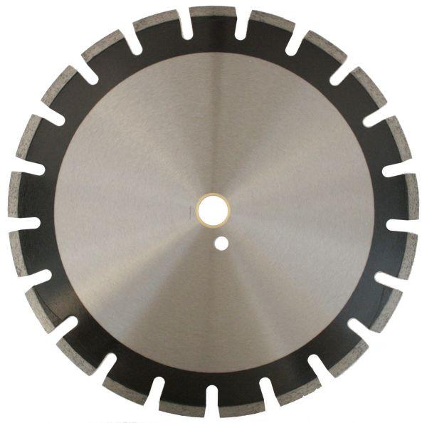 Diamant-Trennscheibe LASER-ASPHALT 300 x 20 mm, Hartmetall-Schutzsegmenten