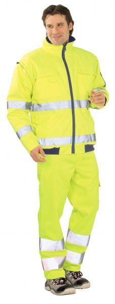 Warnschutz Pilotenjacke uni gelb Gr. S