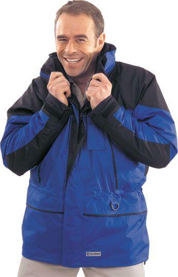 Twister Jacke blau/schwarz