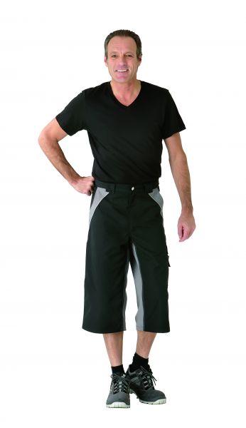 Bundhose 3, 4 Inline schwarz, zink Gr. XS