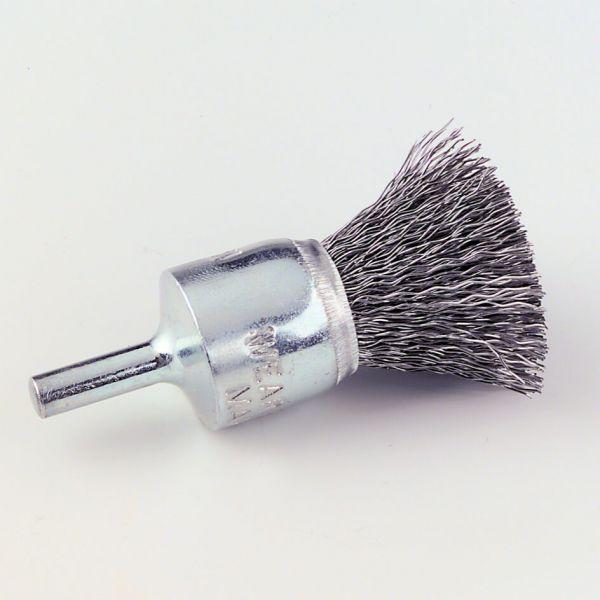 Pinselkopfbürste PB 6 Stahl 0,3 mm, 17 x 6 mm