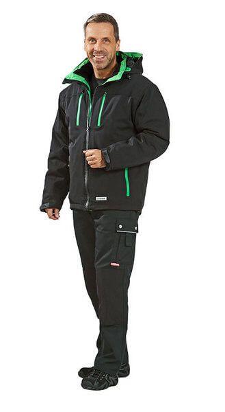Drift Jacke schwarz, grün Gr. XS