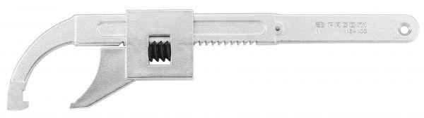 Hakenschlüssel mit Zahnstange