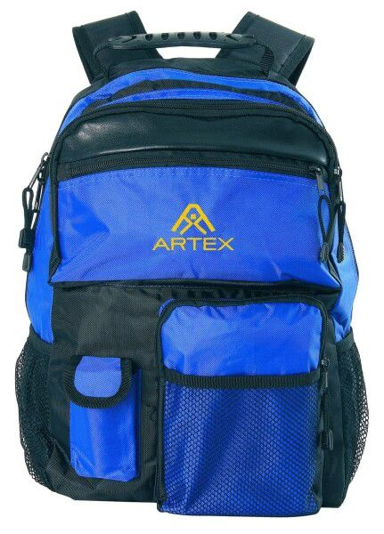 Rucksack blau 330 x 440 mm