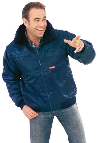 Gletscher Comfort Jacke marine Gr. S