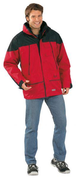 Twister Jacke rot/schwarz