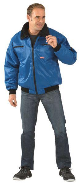 Gletscher Piloten Jacke kornblau Gr. S