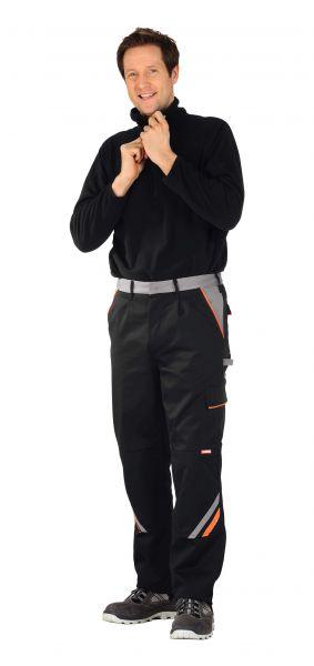 Bundhose VISLINE schwarz, orange, zink Gr. 24