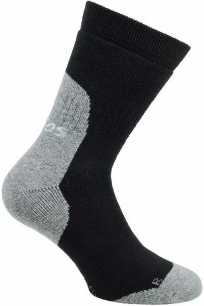 Strümpfe JALAS schwarz/grau, Wolle/Acryl,Spandex,Elasthan,Nylon, Gr. 46-47