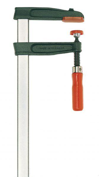 Temperguss-Schraubzwinge TGRC 100 x 50 mm, mit Holzgriff