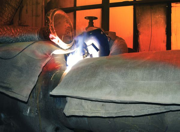 Gießereimatte 1000 x 1000 x 50 mm, bis 1000°C