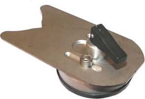 Anbohrhilfe Edelstahl mit Saugfuß Ø 5 - 40 mm