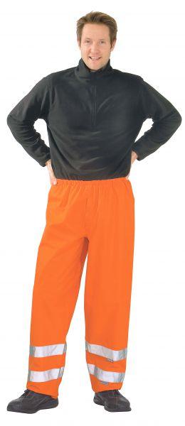 Warnschutz Regenhose uni orange Gr. S