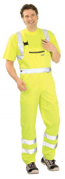 Warnschutz Latzhose uni gelb Gr. 24