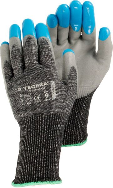 Schnittschutzhandschuhe 980 TEGERA Classic, Nylon, Lycra, Dyneema, Gr. 7