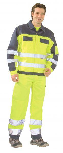 Warnschutz Bundjacke gelb, marine Gr. 24
