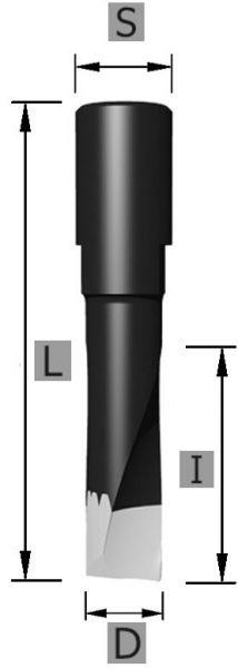 HW Nutfräser Domino Z2 S10 x 5 x 49 mm