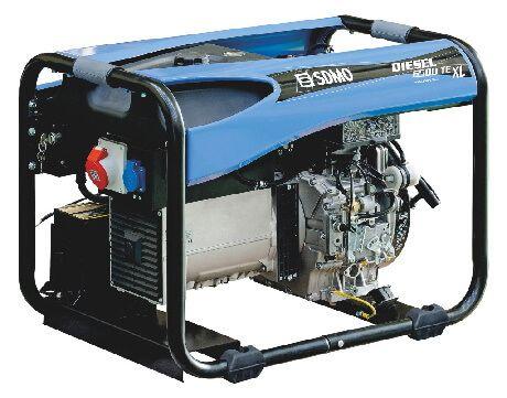 Stromerzeuger DIESEL 6500 TE XL C