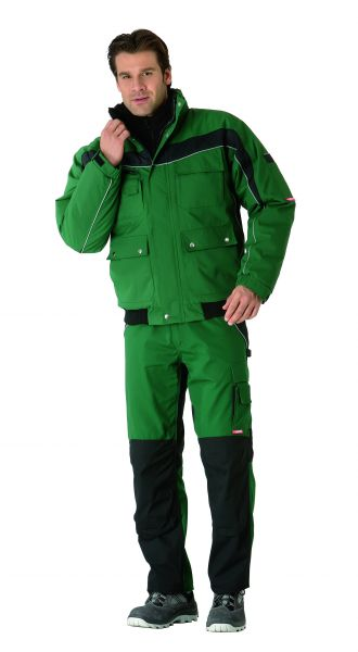 Winterblouson Inline grün, schwarz Gr. XS