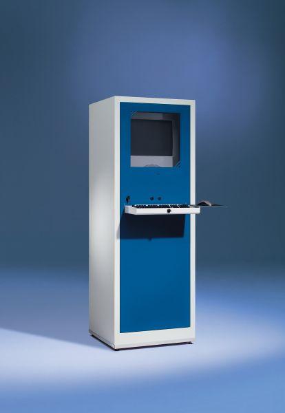 PC-Case Basic IP21 lichtgrau 640 x 1800 x 600 mm