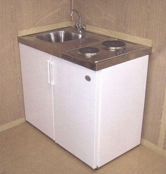 Mini-Küche für Containex Bürocontainer