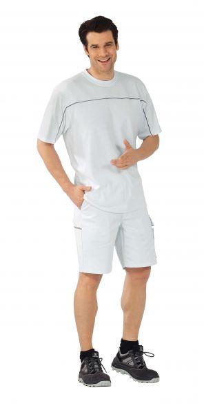 T-Shirt weiß ,  zink, Größe XS