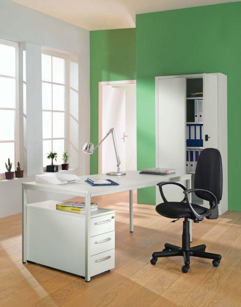 "Komplett-Arbeitsplatz ""Büro im Schrank"""