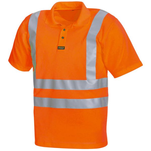 High VIS Poloshirt 3311 orange Gr. S