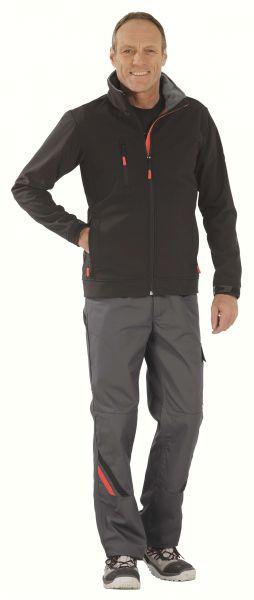 Crest Softshell Jacke schwarz Gr. XS
