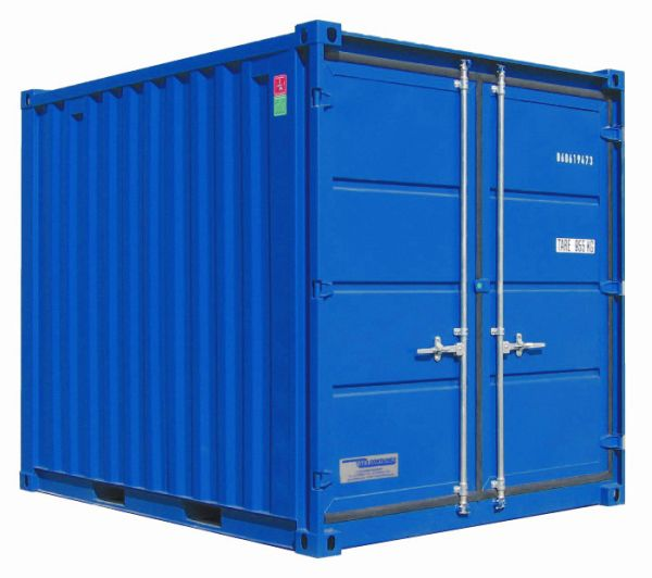 Lagercontainer LC 10', Enzianblau