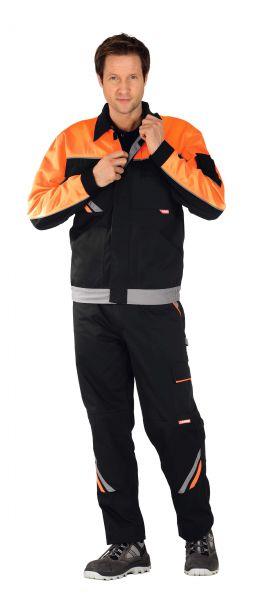 Bundjacke VISLINE1 schwarz, orange, zink Gr. 25